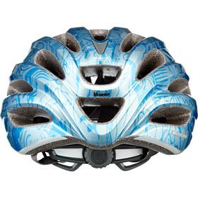Giro Vasona Fietshelm Dames, ice blue/floral